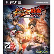 Street Fighter X Tekken Ps3 .: Ordex:.