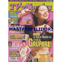 Thalia Con Banda Angelica Rivera Revista Tvynovelas 2001