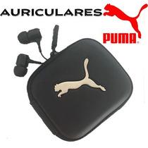 Audifonos Y Manos Libres Originales Puma Incluye Estuche