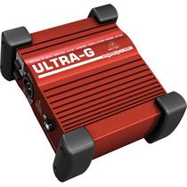 Caja Directa Activa Behringer Gi100 Con Simulador De Bocinas