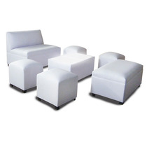 Sala Lounge, 4 Tabs. 1love, 1 Tab Largo Y Mesa C/luz Mobydec