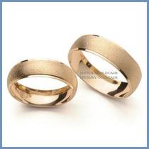 Argollas Matrimoniales Oro Amarillo 14k Chapa Envio Gratis