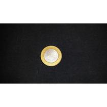 Moneda 100 Pesos Bimetalica Estado Michoacan Escudo