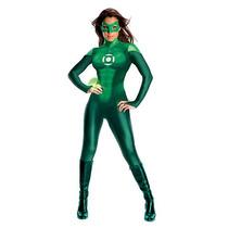 Uniforme Green Lantern Halloween Costume - Tamaño Adulto Peq
