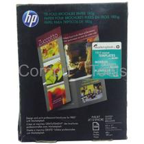 Papel Para Trípticos Hp Brillante 8.5x11 180g/m C7020a 100h.