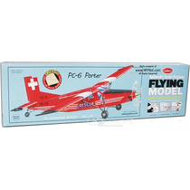 Guillows Avion Pc6 Porter P/ Armar En Madera Balsa 1/24