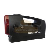 Compresor Con Manómetro 12v 250psi Surtek 107997 Hm4