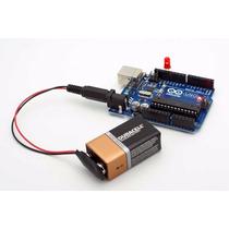 Conector Plug 2.1 Mm Pila Cuadrada 9v Arduino Pic Robotica
