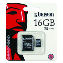 Memoria Micro Sd 16gb Clase 4 Kingston Camaras, Celulares