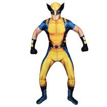 Wolverine Morphsuit - Adultos Xlarge Xmen De Marvel Comic