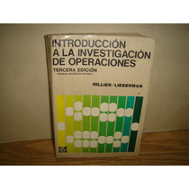 Introduccioón A La Investigación De Operaciones - Hillier