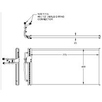 Condensador 94-01 Regal/lumina/cutlass Supreme