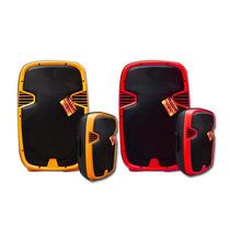 Bafles Colores 8000w Ecualizador Usb Sd Nuevo Modelo E-xaris