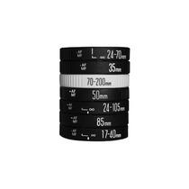 Paquete 8 Pulseras Tipo Lente Lens Bracelet Canon Nikon
