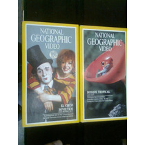 National Geographic Y Discovery Y 9 Videos Vhs Vv4