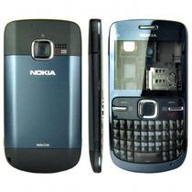 Oferta 2x1 Carcasa Nokia C3 Nueva Caratula Completa Calidad