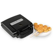 Maquina Para Elaborar Wafles Waflera Mickey Pm0