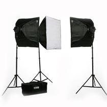 Kit Estudio Fotografico Profesional Digital 4500 Watts Vbf