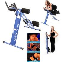 Maquina Abdominal Ab Power Plank Gym Gimnasio Aerobico Abs.