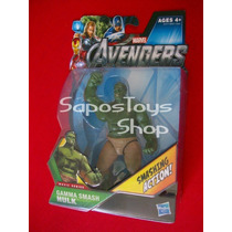The Avengers: Hulk Gamma Smash Movie Series Smashing Action
