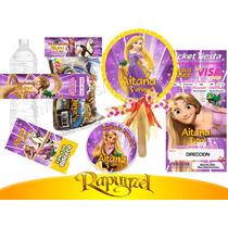 Invitaciones Infantiles Rapunzel Enredados Vv4