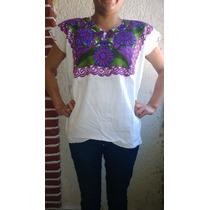 Blusas Bordadas Típicas De Chiapas