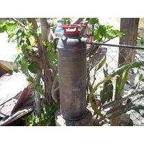Antiguo Extintor De Cobre Marca Kontrol No Subasta Baul R.