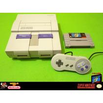.: Consola Super Nintendo. Completa + Mario World!!!.
