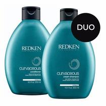 Curvaceous Redken Duo Shampoo 300 Ml Y Acondicionador 250 Ml