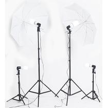 Kit Estudio Fotografico Profesional 1000 Watts Luz Continua