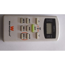 Control Minisplit White Westinghouse Clima Aire Acondicionad