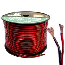 Rollo De Cable Profesional Polarizado Calibre 12. 100mtros