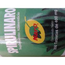 Alga Spirulina 250 Tabs. 400 Mg Spirulinaro