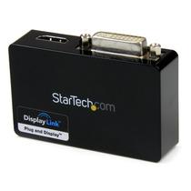 Adaptador Startech.com Usb32hddvii De Video Externo Usb 3 A
