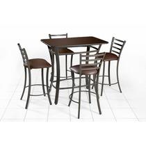 Mesa Periquera Para Bar Antro Restaurante Cafeteria Lounge.