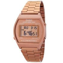 Reloj Casio B640 Cobre Original Retro Vintage Luz Cronometro