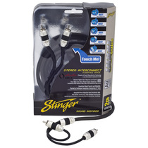 Stinger Cable Rca Si823 Series 8000 Plata 2ch 3ft