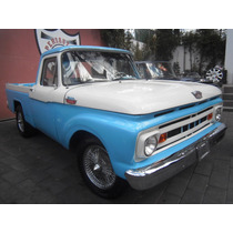 Ford F100 1964 Clasica Estandar Factura Original