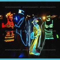 El Wire, Luz Neón Para Iluminar Tu Evento, Fiesta Y Mas