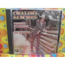 Chalino Sanchez Cd Corridos Felix Y Quintero Edic.02