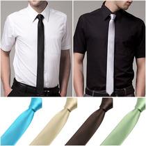 Corbatas Delgadas (negra Y Otros Colores)