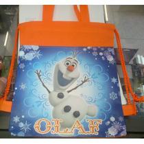 Lote De 10 Mochilas Bolsas Dulceros Frozen Olaf