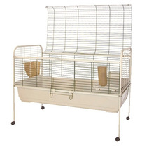 Jaula Para Animales Mascotas Roedores Conejos Conejera Hm4