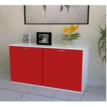 Mueble Credenza Roni, Comoda, Recibidor, De 1.20 De Largo