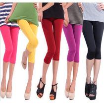 Lindos Y Sexys Leggings Cortos De Varios Colores