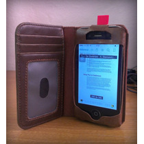 Funda De Piel Libro Antiguo Iphone 5 5s 4 4s Galaxy S3 S4