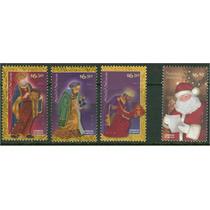 Sc 2660-2663 Año 2009 Navidad