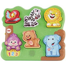 Fisher-price Laugh And Learn Animal Zoo Puzzle