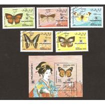 Mariposas Sahara Occidental Africa 1991 Africa