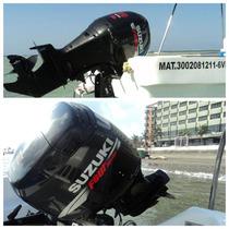Venta Motor Suzuki 70 Hp Semi Nuevo 2 Lanchas Con Remolque